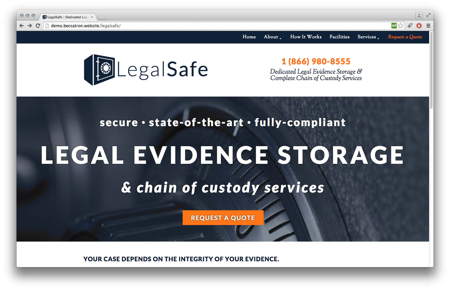 LegalSafe Website & Identity
